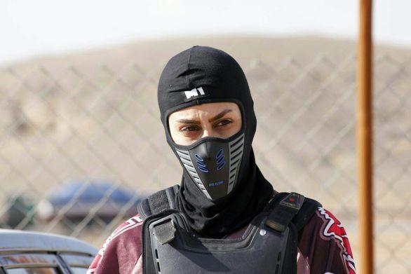 اولین حضور یک بانوی ایرانی در مسابقات جهانی موتورسواری