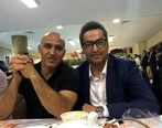 عکس ماندگار از علیرضا منصوریان و مهرداد میناوند در دربی