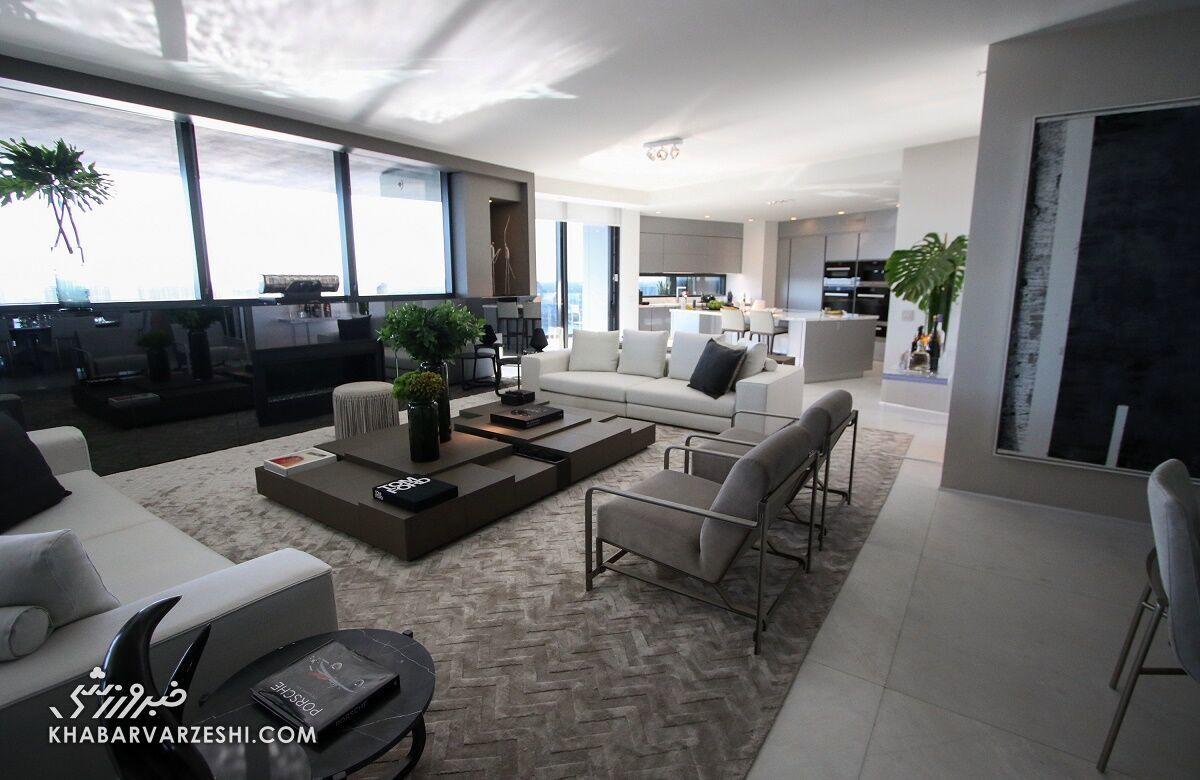آپارتمان لیونل مسی در میامی