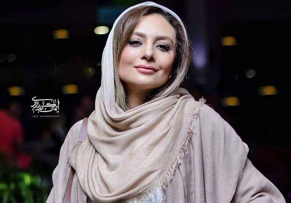 یکتا ناصر با تیپ قرمز پاییزی + عکس جدید