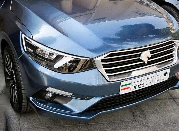 نام خودرو جدید ایران خودرو رسما رونمایی شد + عکس