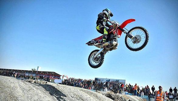 نفرات برتر سومین مسابقه موتورکراس قهرمانی کشور مشخص شدند