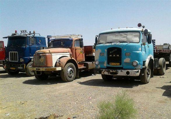 اوضاع نابسامان نوسازی کامیون های فرسوده
