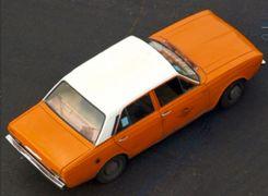 تاکسی پیکان نارنجی نوستالژیک در آلمان (ویدئو)