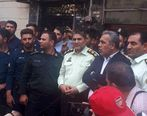 اقدام جالب نیروی انتظامی با معترضین پرسپولیسی (عکس)