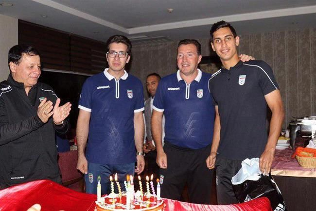 جشن تولد محمد نادری