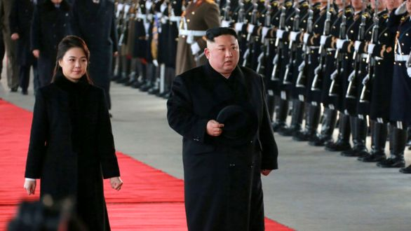 حضور همسر رهبر کره شمالی در انظار عمومی