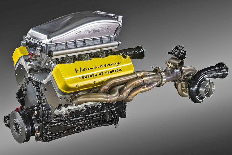Hennessy fury engine