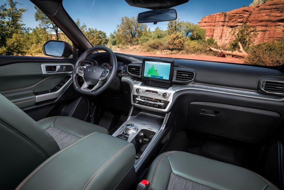 فورد اکسپلورر Timberline 2021 خودرویی برای آفرودبازان حرفه ای
