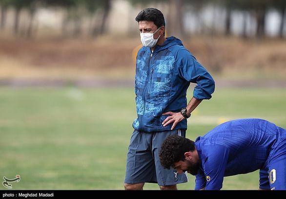 پاسخ تند و غیرمنتظره مربی استقلال به منصوریان