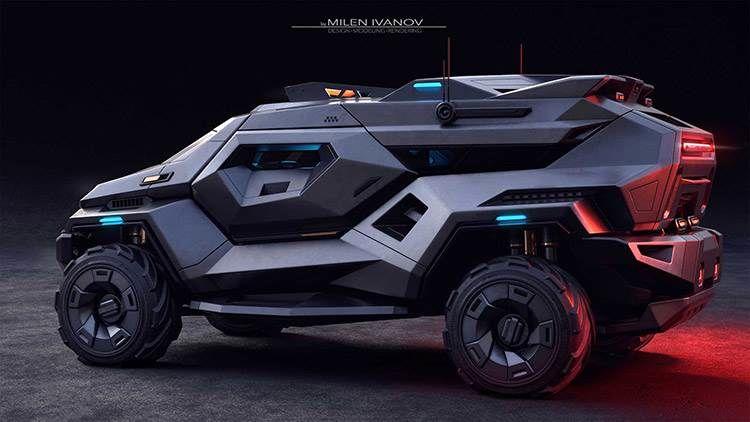 Armortruck SUV / شاسی بلند آرمورتراک