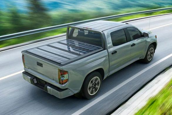 پنل خورشیدی برای خودروهای پیکاپ