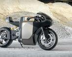 اولین موتورسیکلت برقی ساخت بلژیک