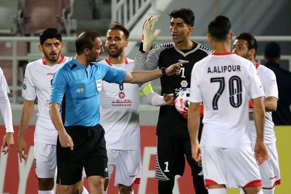 اعتراض رسمی پرسپولیس به AFC به خاطر اشتباهات داوری