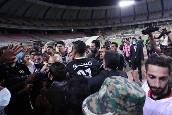 صحبت های پلیس اصفهان به اتفاقات بازی سپاهان و پرسپولیس