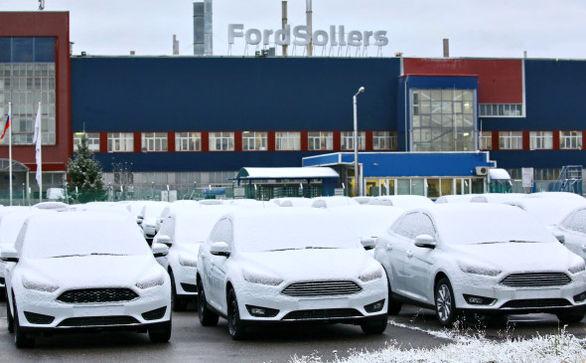 توقف فعالیت کارخانه فورد در روسیه