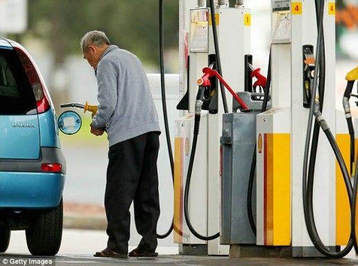 fill fuel tank