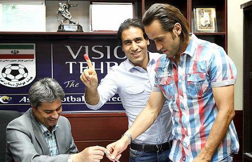 بیانیه مشترک علی کریمی و مهدویکیا در مورد انتخابات فدراسیون فوتبال