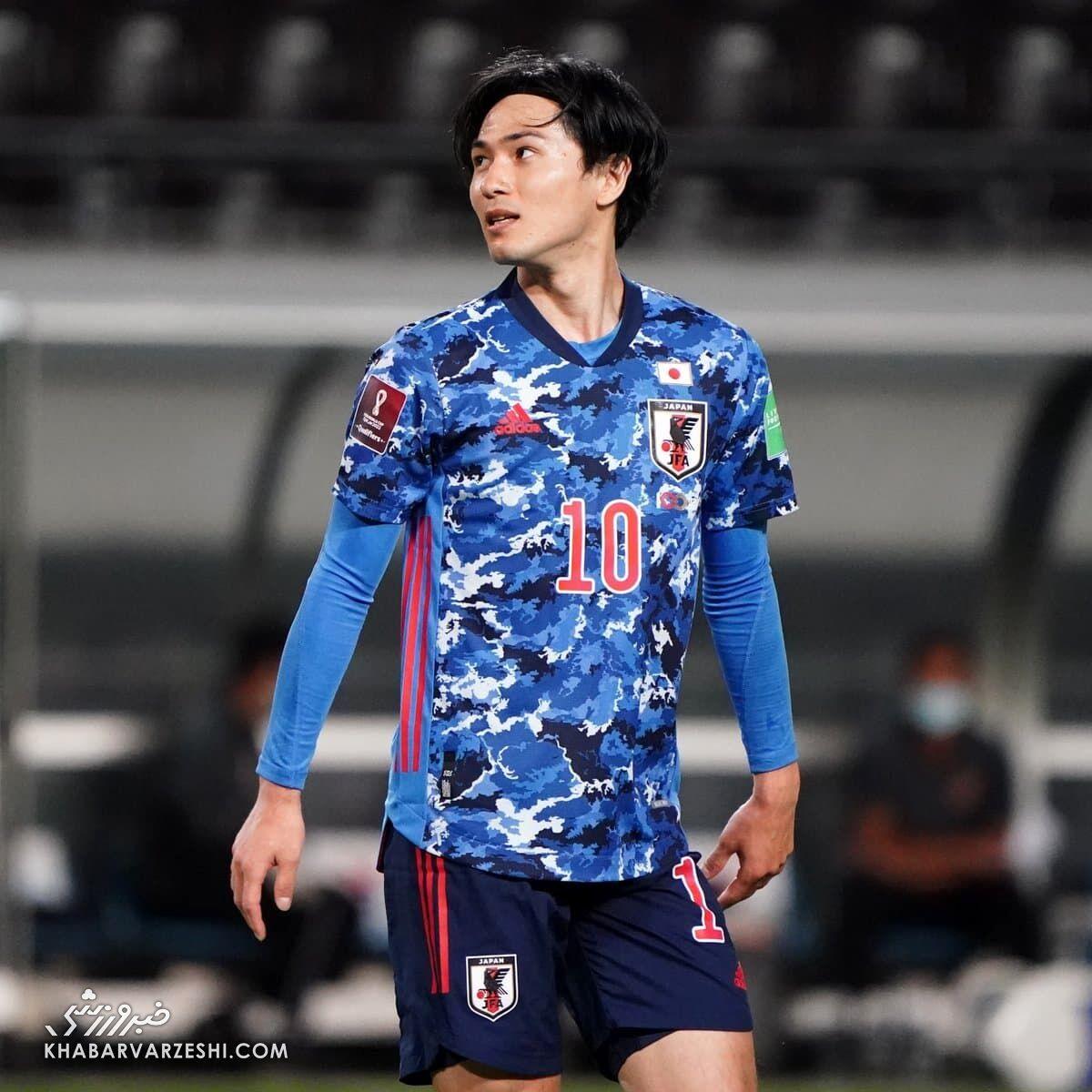 عکس| کیت جذاب ژاپنیها برای مقدماتی جام جهانی