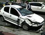 تصادف شدید 2 دستگاه پژو 206 در بزرگراه امام علی + تصاویر