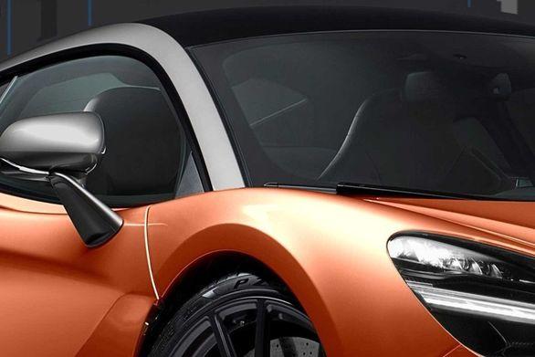 تصاویر خودرو جانشین مک لارن 570S لو رفت