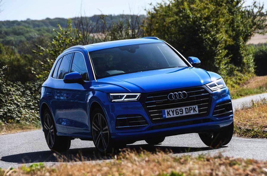خودروی Audi Q5؛ شقایق آبی شرکت آئودی