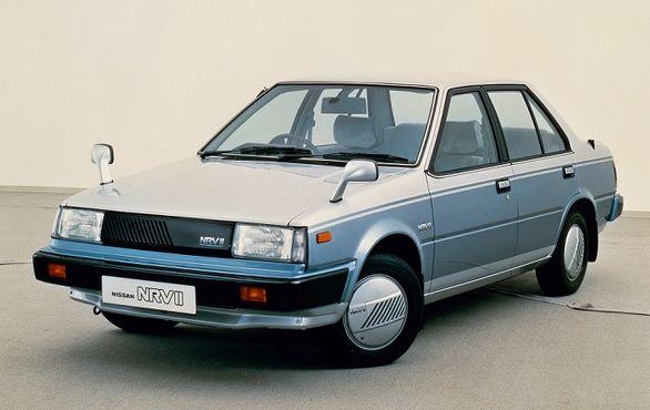 نگاهی به نیسان NRV2 / فضایی ترین خودروی سال 1983