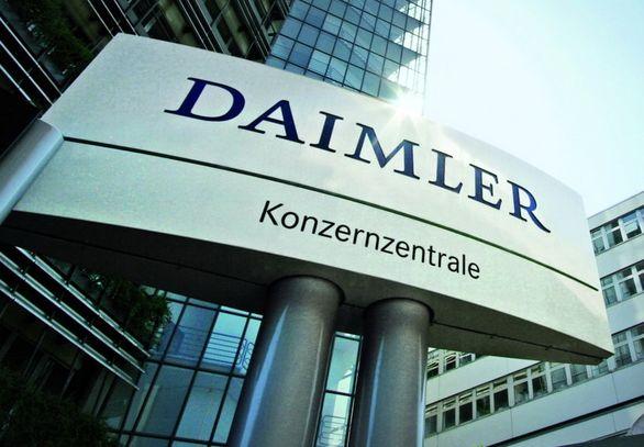 دایملر آب می رود