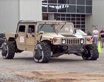 ابداع فناوری پیشرفته برای لاستیک خودروهای نظامی (تصاویر)