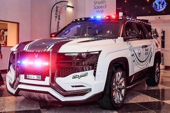 با غیاث پلیس دبی بیشتر آشنا شوید + فیلم