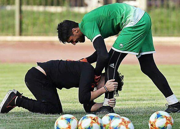 جیمی جامپ استقلالی برادرزاده حسینی بود؟ (عکس)
