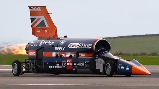 سریع ترین وسیله نقلیه دنیا در آستانه رکوردی تاریخی
