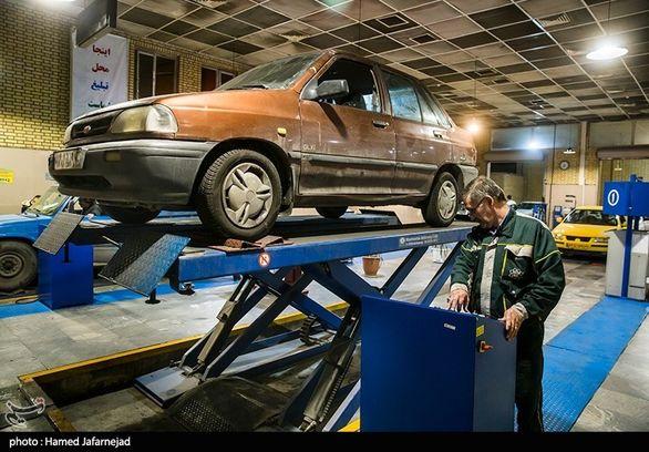 آمار خودروهای فاقد معاینه فنی در پایتخت