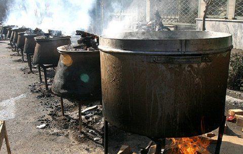 سقوط مرگبار آشپز در دیگ غذای عروسی!