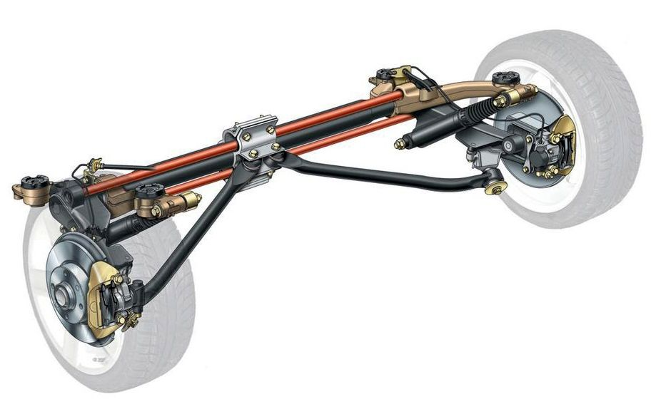 Peugeot-206-rear-axle-suspension-system
