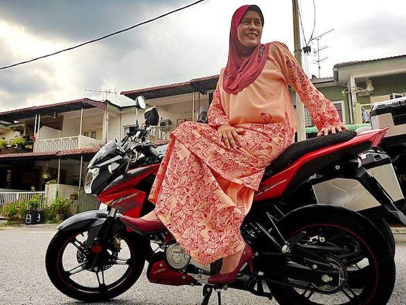 این زنان موتورسوار