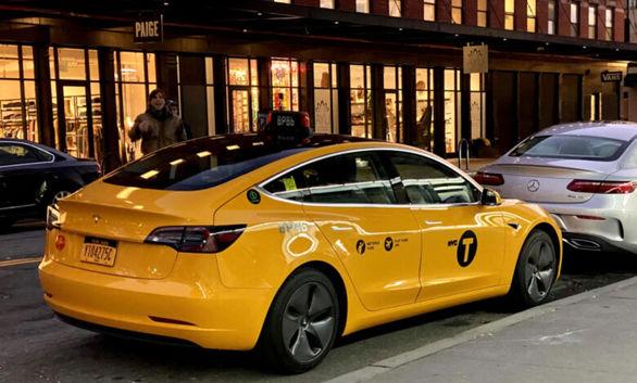 تسلا مدل 3 اولین تاکسی زرد برقی در نیویورک