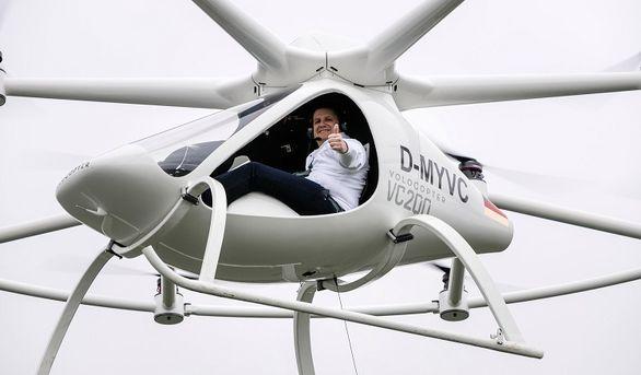 تاکسی های پرنده در المپیک 2024؟