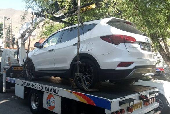 نکات قانونی درباره حمل خودرو توسط جرثقیل پلیس