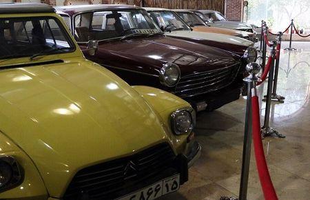 افتتاح موزه خودروهای تاریخی