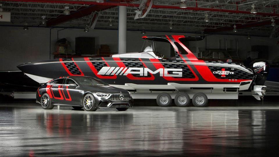 همکاری عجیب مرسدس AMG با یک شرکت قایق سازی