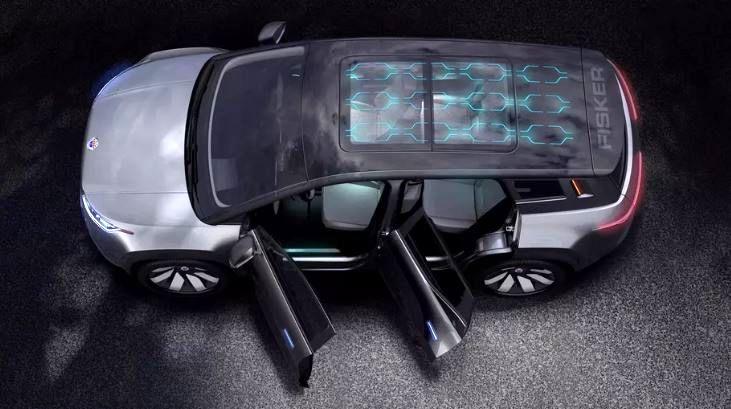 شاسی بلند الکتریکی «فیسکر اوشن» مجهز به سقف خورشیدی رونمایی شد