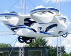 اولین خودروی پرنده ژاپن با فناریو NEC