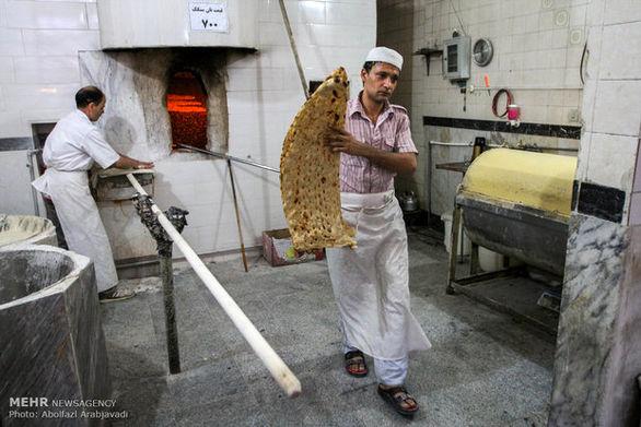 جزئیات قیمت انواع نان یارانه ای و آزاد پز در تهران (جدول)